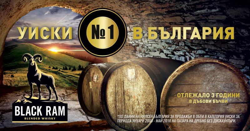 Black Ram -  уиски №1 в България